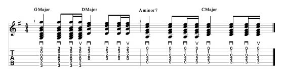 Guitar Song Tab 2
